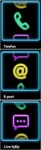 Exempel på kontaktinfo online gaming
