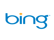 Bing sökmotor logo