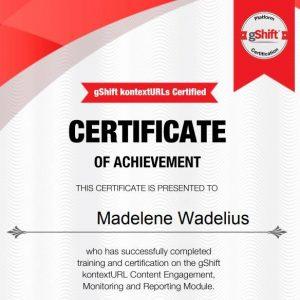 KontextURLs Certified