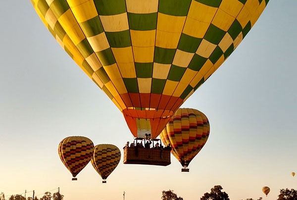 Balloons Above the Valley image