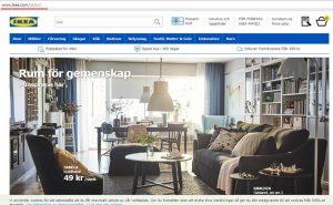 Ikea hemsida domänstruktur bild